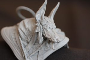 Anubis V Bust - Macro Picture - OMEN | Battle of Gods