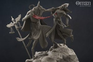 Anubis Render Mini-Diorama - - OMEN Battle of Gods